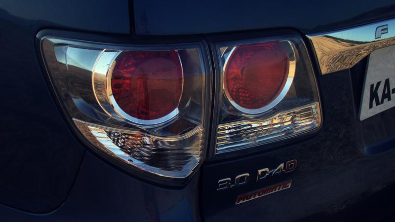 Toyota Fortuner indicators
