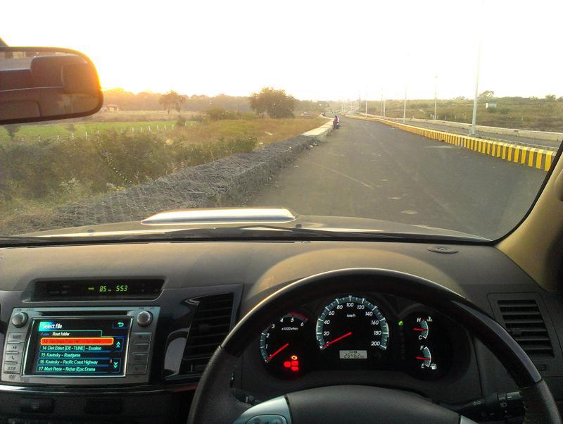 Toyota Fortuner visibility image