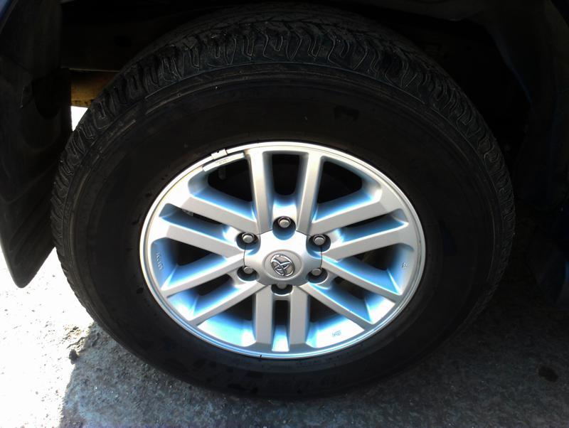 Toyota Fortuner wheels