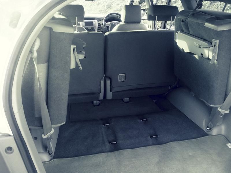 Toyota Innova Boot space photo