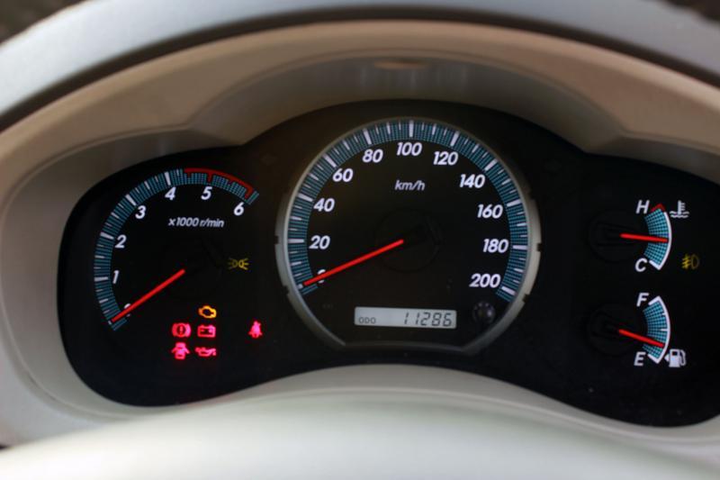 Toyota Innova Speedometer
