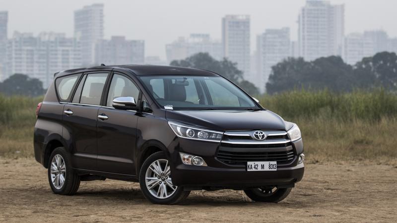 Toyota Innova Crysta petrol automatic review