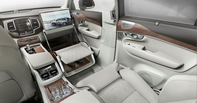 Volvo XC90 Excellence Lounge Console interior