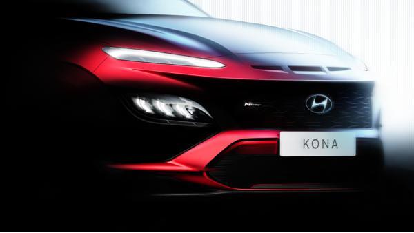 New Hyundai Kona N Line teased