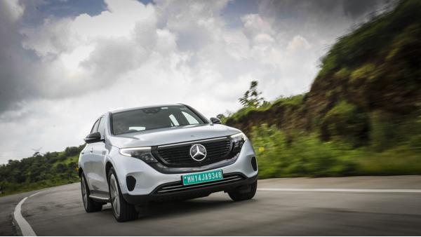 Mercedes-Benz EQC First Drive Review