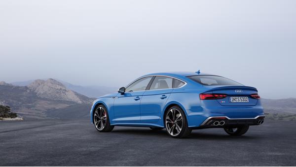 New Audi S5 Sportback rear profile