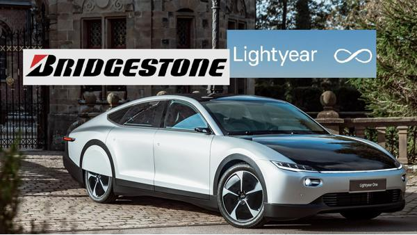 Bridgestone and Lightyear tie up for the worlds first long range solar electric powered car