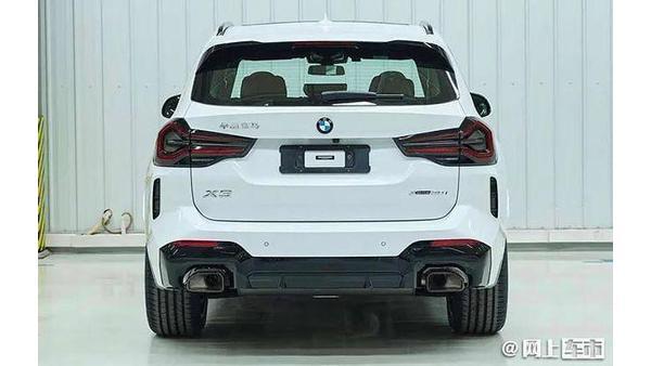 2022 BMW X3 spied