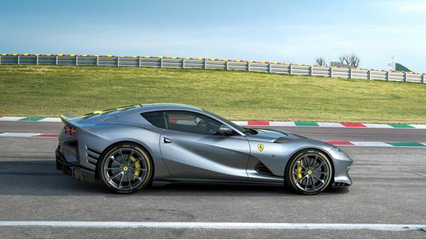 Ferrari 812 Superfast Special Edition side profile