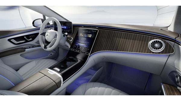 Mercedes-Benz EQS base variant interior