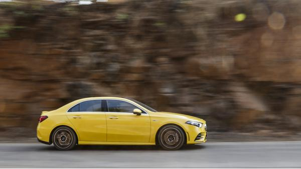 Mercedes-Benz A35 AMG First Drive Review