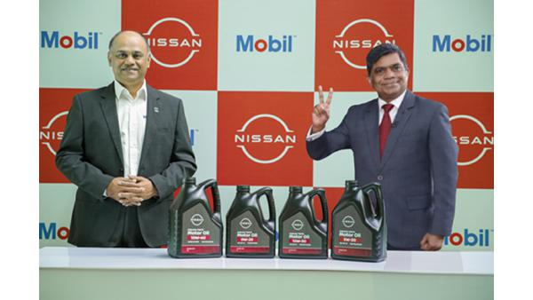 Nissan India and ExxonMobil join hands to supply lubricants for the passenger vehicles business