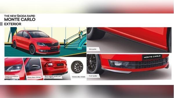 Skoda Rapid Monte Carlo variant update