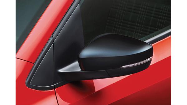 Volkswagen Polo turbo black ORVMs