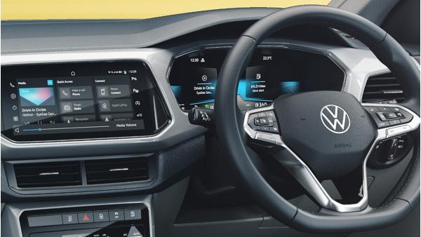 Volkswagen Taigun Concept dashboard