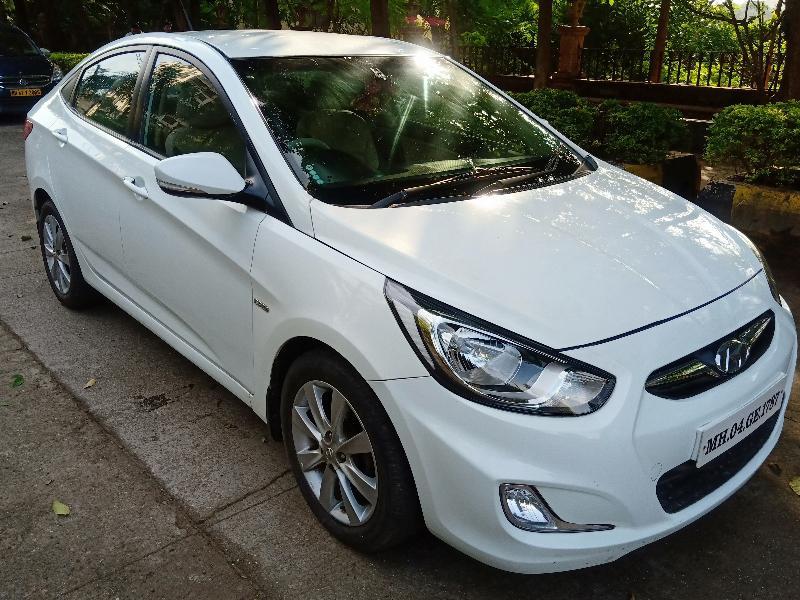 Used 2013 Hyundai Verna Car In Thane