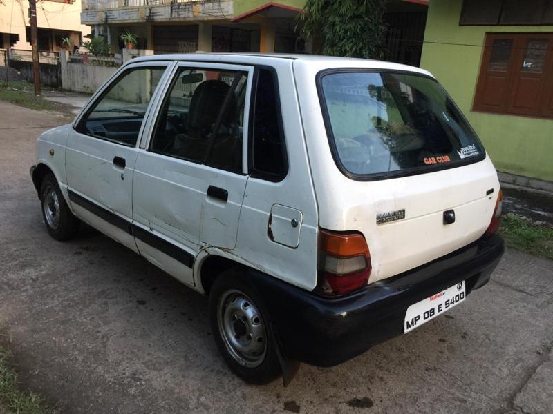 Used 1999 Maruti Suzuki 800 Car In Vidisha