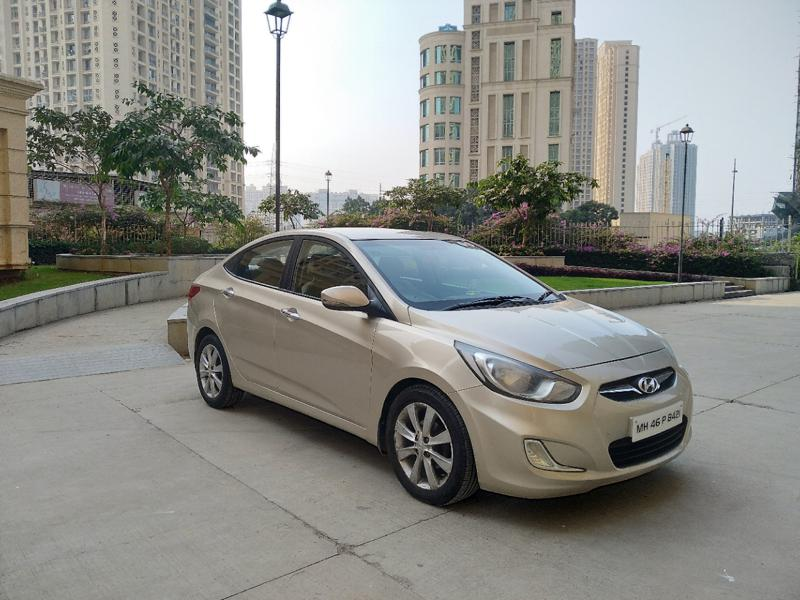 Used 2012 Hyundai Verna Car In Thane
