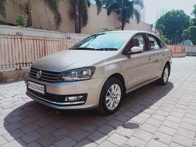 Used 2015 Volkswagen Vento Car In Thane