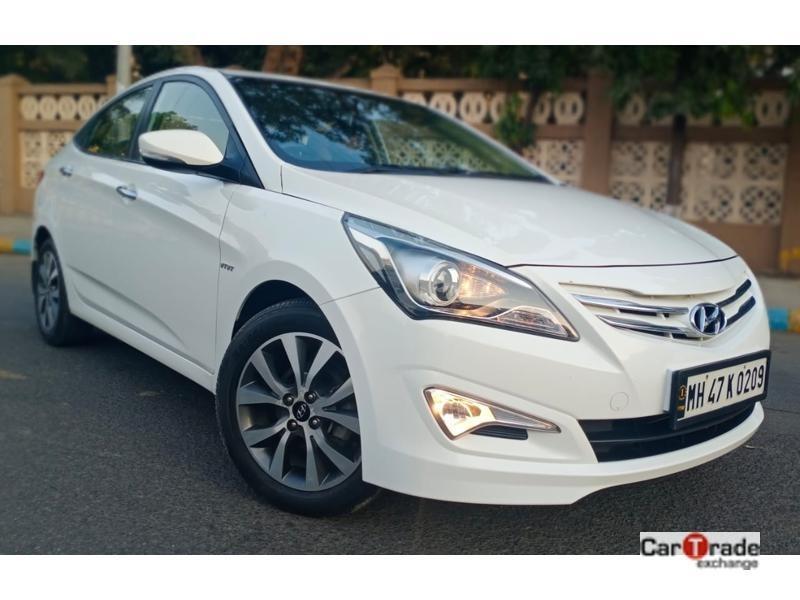 Used 2015 Hyundai Verna Car In Thane