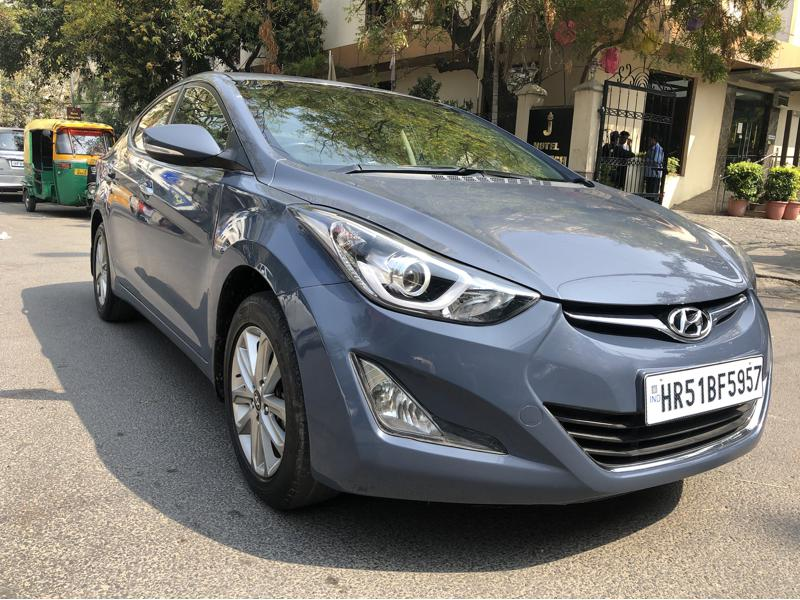 Used 2015 Hyundai Neo Fluidic Elantra Car In New Delhi