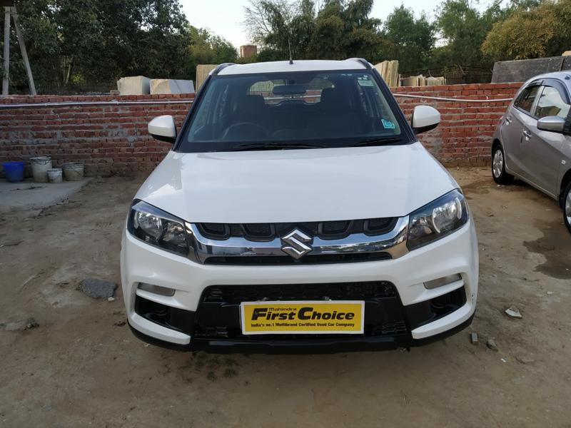 Used 2018 Maruti Suzuki Vitara Brezza Car In New Delhi