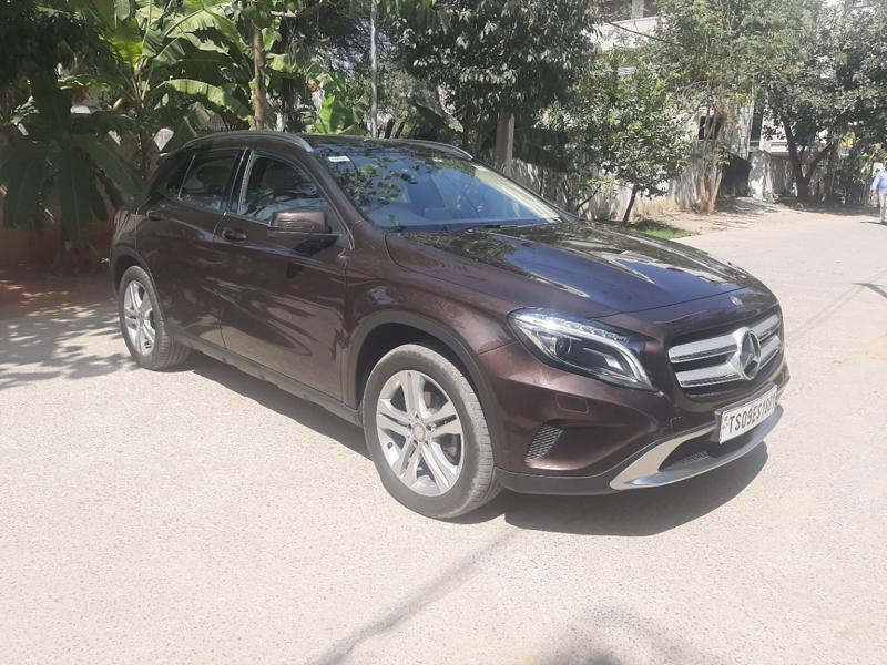 Used 2016 Mercedes Benz GLA Class Car In Vijayawada