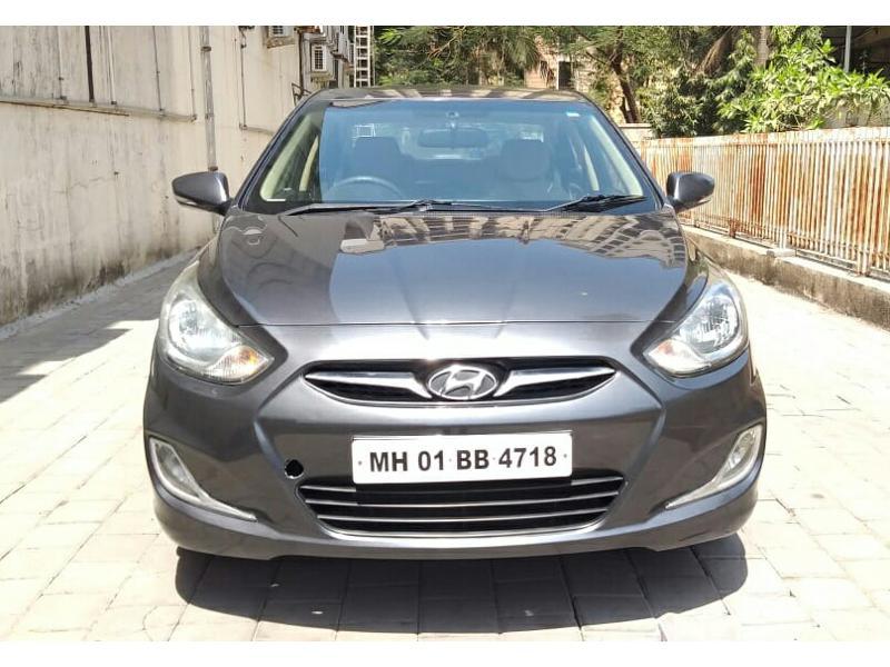 Used 2012 Hyundai Verna Car In Thane