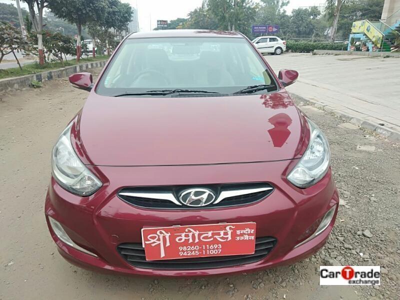 Used 2013 Hyundai Verna Car In Dhar