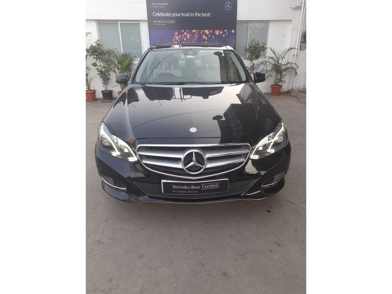 Used 2016 Mercedes Benz E Class Car In Pune