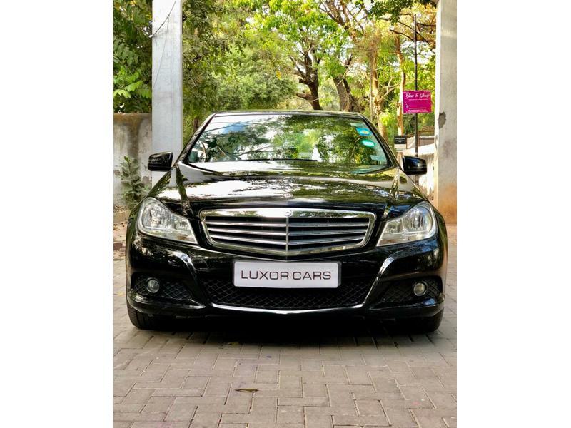 Used 2012 Mercedes Benz C Class Car In Pune