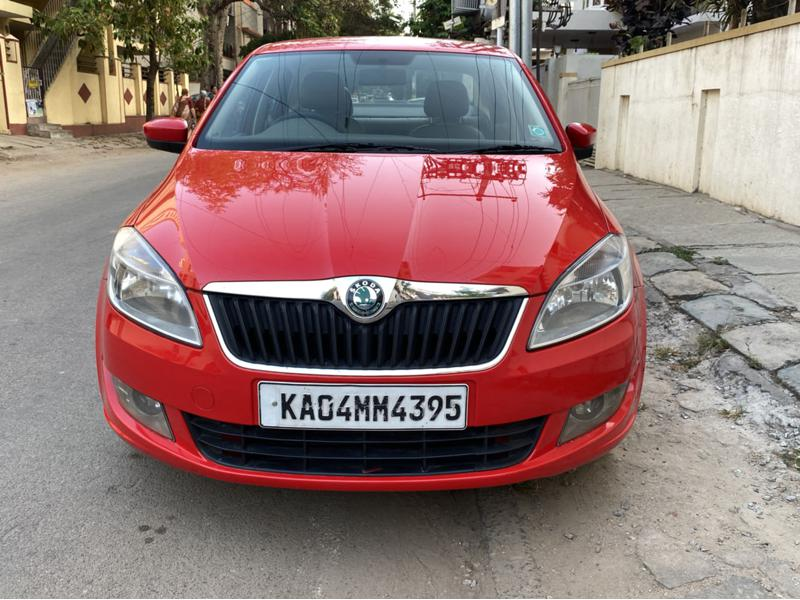 Used 2013 Skoda Rapid Car In Bangalore