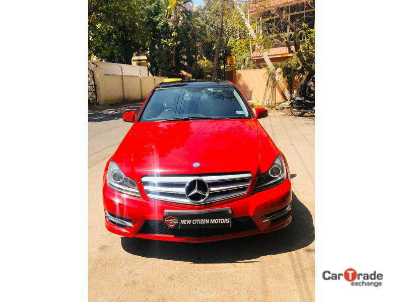 Used 2014 Mercedes Benz C Class Car In Bangalore