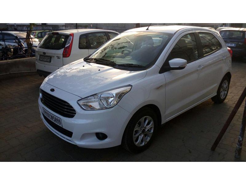 Used 2016 Ford Figo Car In Pondicherry
