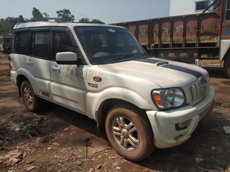 Used 2012 Mahindra Scorpio Car In Jagdalpur