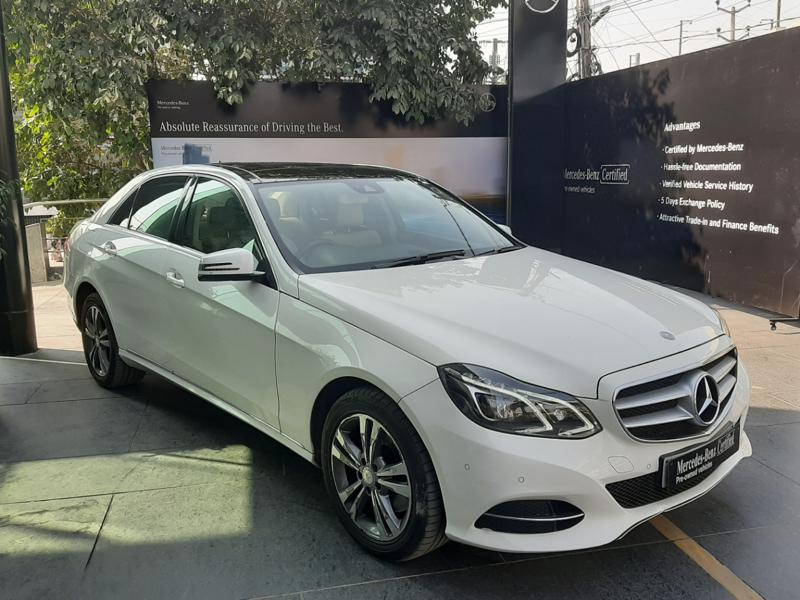 Used 2015 Mercedes Benz E Class Car In Visakhapatnam