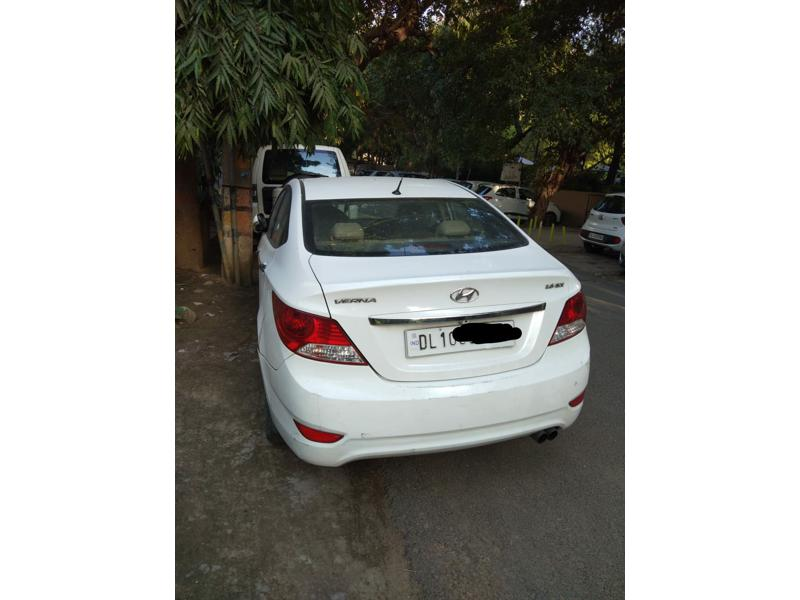 Used 2014 Hyundai Verna Car In New Delhi