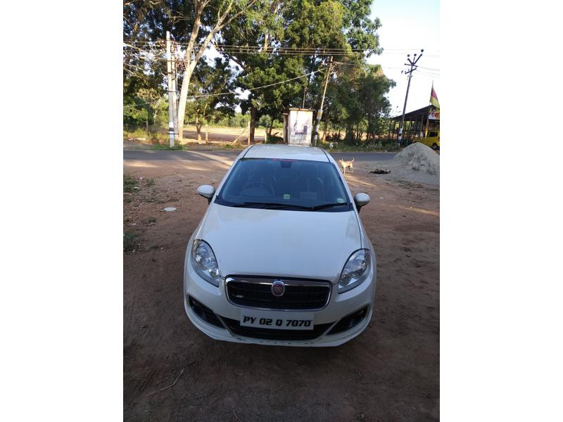Used 2016 Fiat Linea Car In Pondicherry