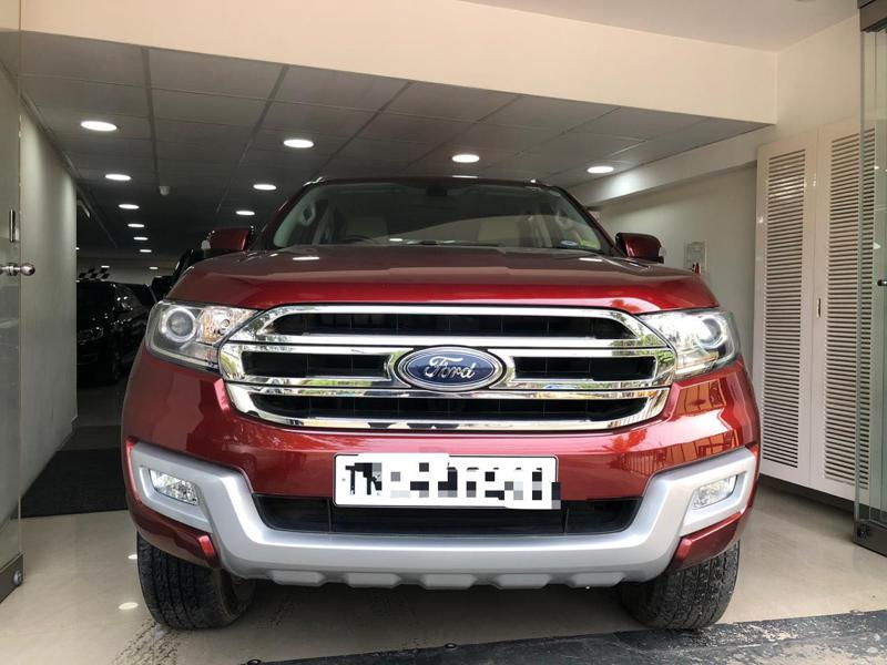Used 2016 Ford Endeavour Car In Chennai