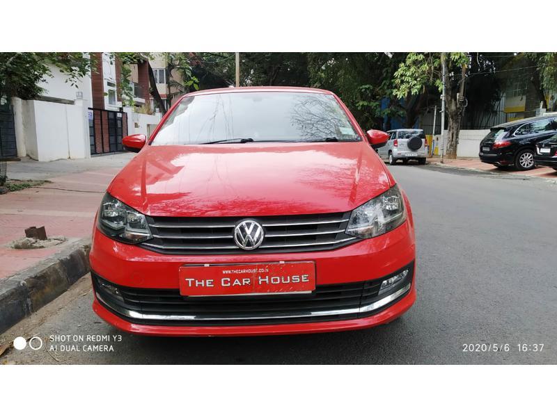 Used 2018 Volkswagen Vento Car In Bangalore