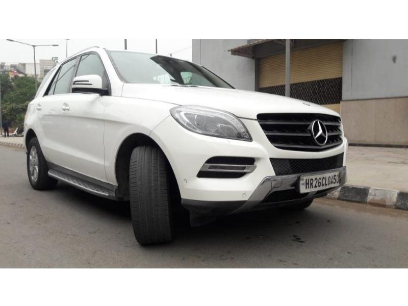 Used 2015 Mercedes Benz M Class Car In Faridabad
