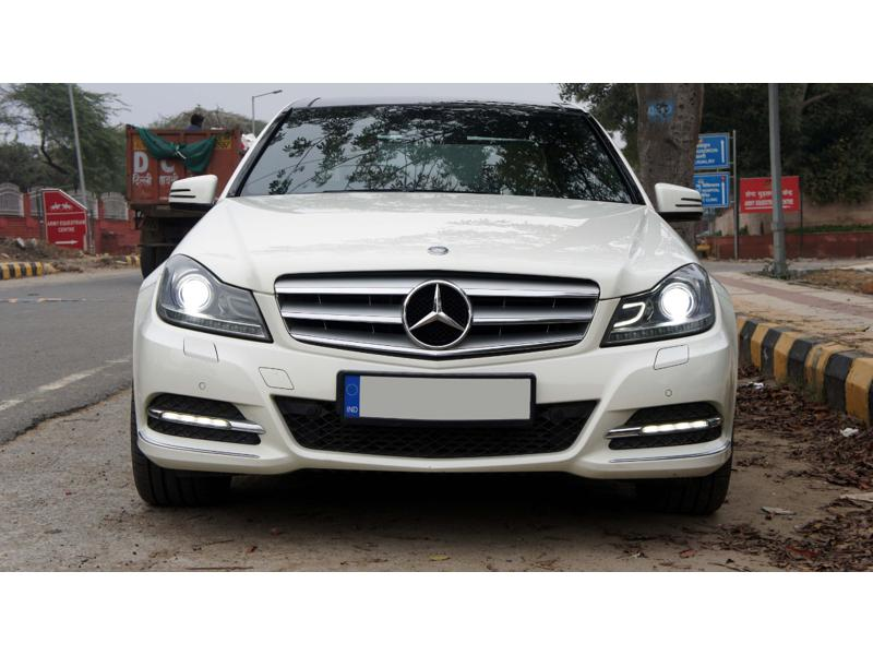 Used 2012 Mercedes Benz C Class Car In Faridabad