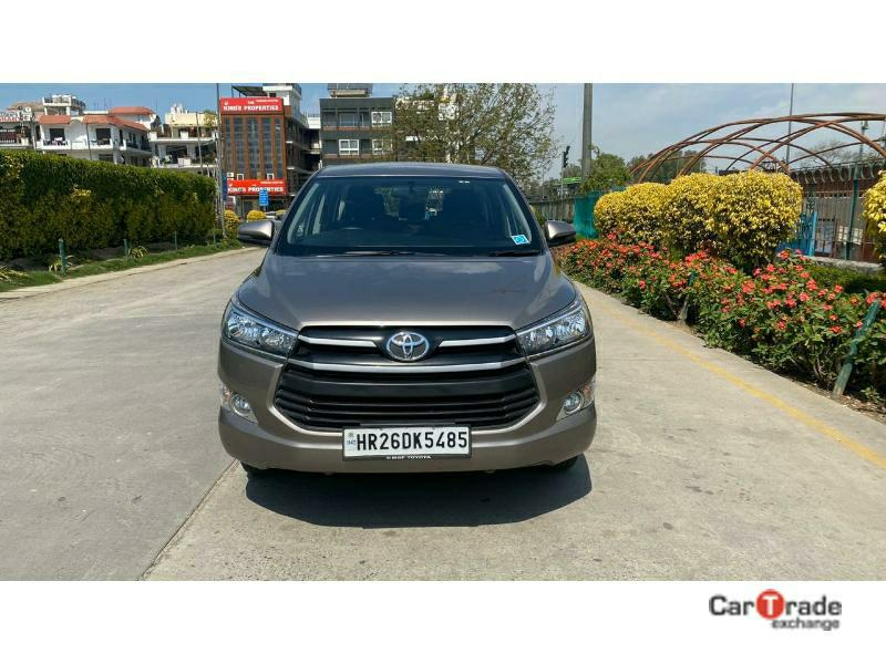 Used 2017 Toyota Innova Crysta Car In Gurgaon