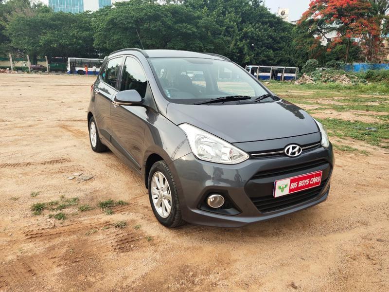 Used 2015 Hyundai Grand i10 Car In Bangalore