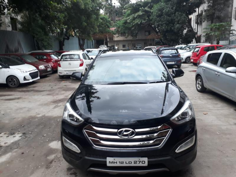 Used 2014 Hyundai Santa Fe Car In Pune