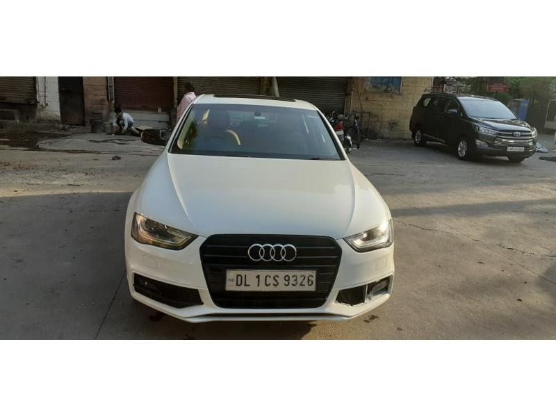Used 2015 Audi A4 Car In Ghaziabad