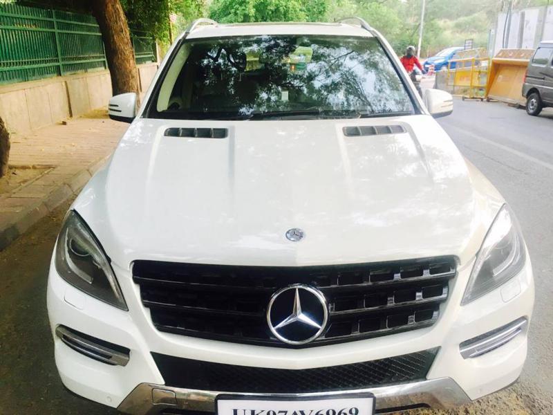 Used 2013 Mercedes Benz M Class Car In New Delhi