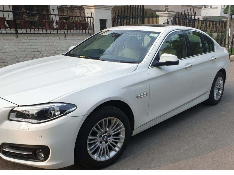 Used 2016 BMW 5 Series Car In Chandigarh