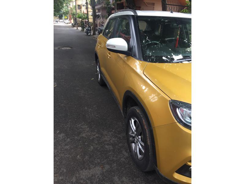 Used 2016 Maruti Suzuki Vitara Brezza Car In Bangalore