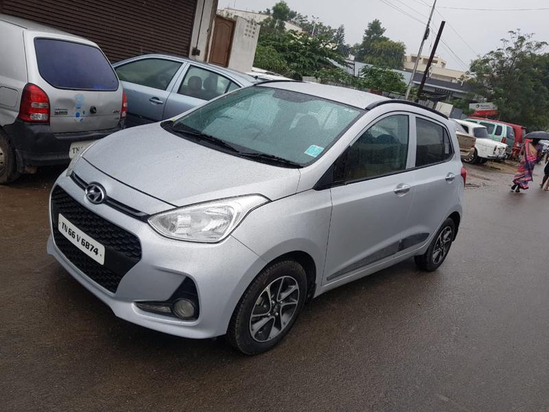 Used 2017 Hyundai Grand i10 Car In Coimbatore